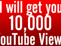 provide you 6,000 to 10,000 Organic YouTube views on your Video from Top Social Networks for $20