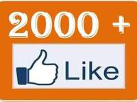 drive 2000+ facebook likes [Permanent] to your facebook fan Page
