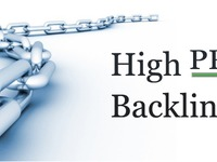 create 1 PR9, 8 PR8, 20 PR7, 25 PR6 Penguin Safe backlinks to your website