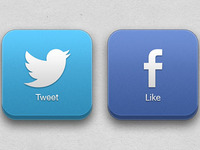 set up and manage Facebook and Twitter accounts.