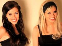 Do a Custom Promotional Video/testimonial with our beautiful twin girls!