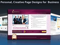 create an awesome professional landing page
