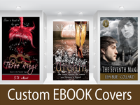 create a custom e book cover design for your next novel for
