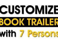 customize HD Book Trailer with 7 Persons