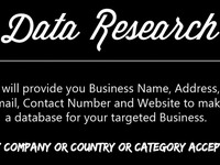 do data research Find for you contact,email,web