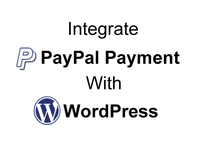 have your WordPress site integrated with PayPal