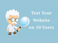 Run user tests with at least 10 users on your website, Invaluable insights gained
