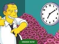 get you donuts on The Simpons Tapped Out