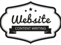 write content for your entire website