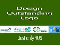 design OUTSTANDING Logo