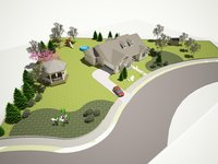 make 3D model of your house