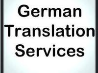translate technical documents from/to German
