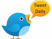 research, write and DAILY tweet for your Twitter feed