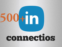 add 500 plus high class linkedin connection +improve your profile seo