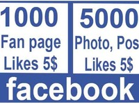 provide you worldwide 1000 Facebook fanpage likes