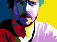 make your photo into Pop Art Portrait