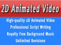 create a custom 2D Animated Video