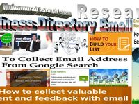 Collect Email,Contact Address,Phone etc