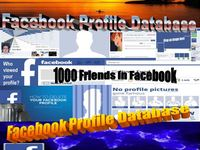 Give You 100 Plus Facebook Profile Database
