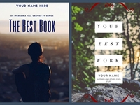 create a stunning eBook Cover for Amazon or Kindle