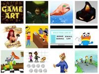 create illustrations, character designs and animations