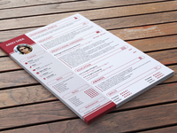 Design Resume, CV, Curriculum Vitae & Cover Letter For You