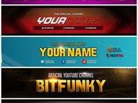 design YouTube banner