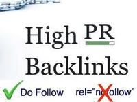 create 10 high PR 6-10 backlinks to your site or blog.