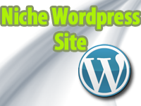 make a niche Wordpress site for you only
