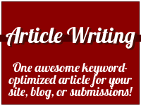 write one keyword-optimized article for you in one business day!