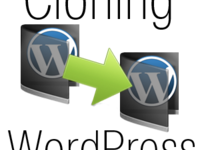 create and then transfer an exact clone of your self-hosted Wordpress blog or website to your new server