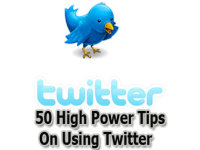 Send you 50 Powerful Tips  On Using twitter For More Traffic  and Sales...