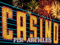 give you 690 High Quality PLR Articles on Gambling & Casinos