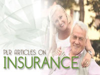 give you 395 High Quality PLR Articles on Insurance