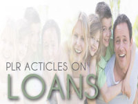 give you 950 High Quality PLR Articles on Loans