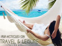give you 950 High Quality PLR Articles on Travel & Leisure
