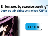 Send you a ready made website- Sweating Problems Site