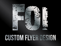 Design a Custom Flyer Design