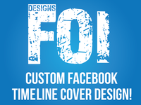 Create a Custom Facebook Timeline Cover/ Banner Design