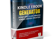 give you the perfect Kindle Ebook Generator Software for 5$