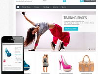 create your eCommerce store website