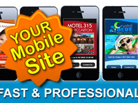 create PROFESSIONAL mobile sites for $20