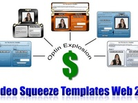 give you 5 Web 2 video squeeze templates+ PLR+sale page