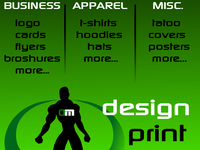 design anything for you (logo,flyer,business card, t-shirt...)