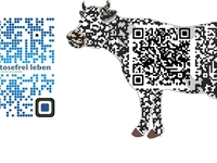 create 2 very professional & creative QR codes for one website or one business contact including logo or image