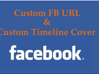 create a Facebook fanpage with customized URL and a Timeline Cover Photo