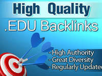 create 350 .EDU backlinks for your site for Top search engine boost