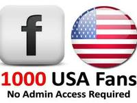 give you 1000 USA Facebook like within 24 hours.