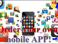 will create an app for your Business, Website, Company or Brand, suitable for iPhone and Android, A Promoting, advertising and Informative app for $100