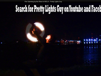 do a professional fire spinning dance to the song of your choice!